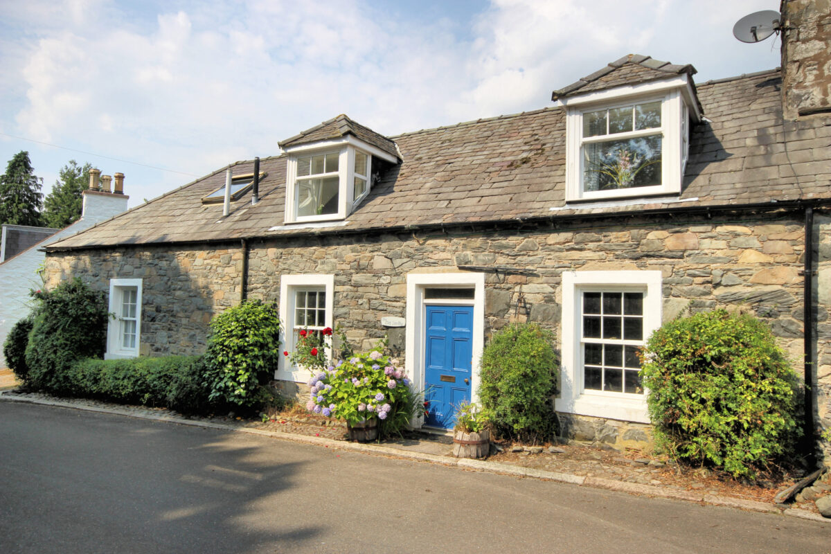 The Old Smithy, Balmaclellan - Williamson and Henry