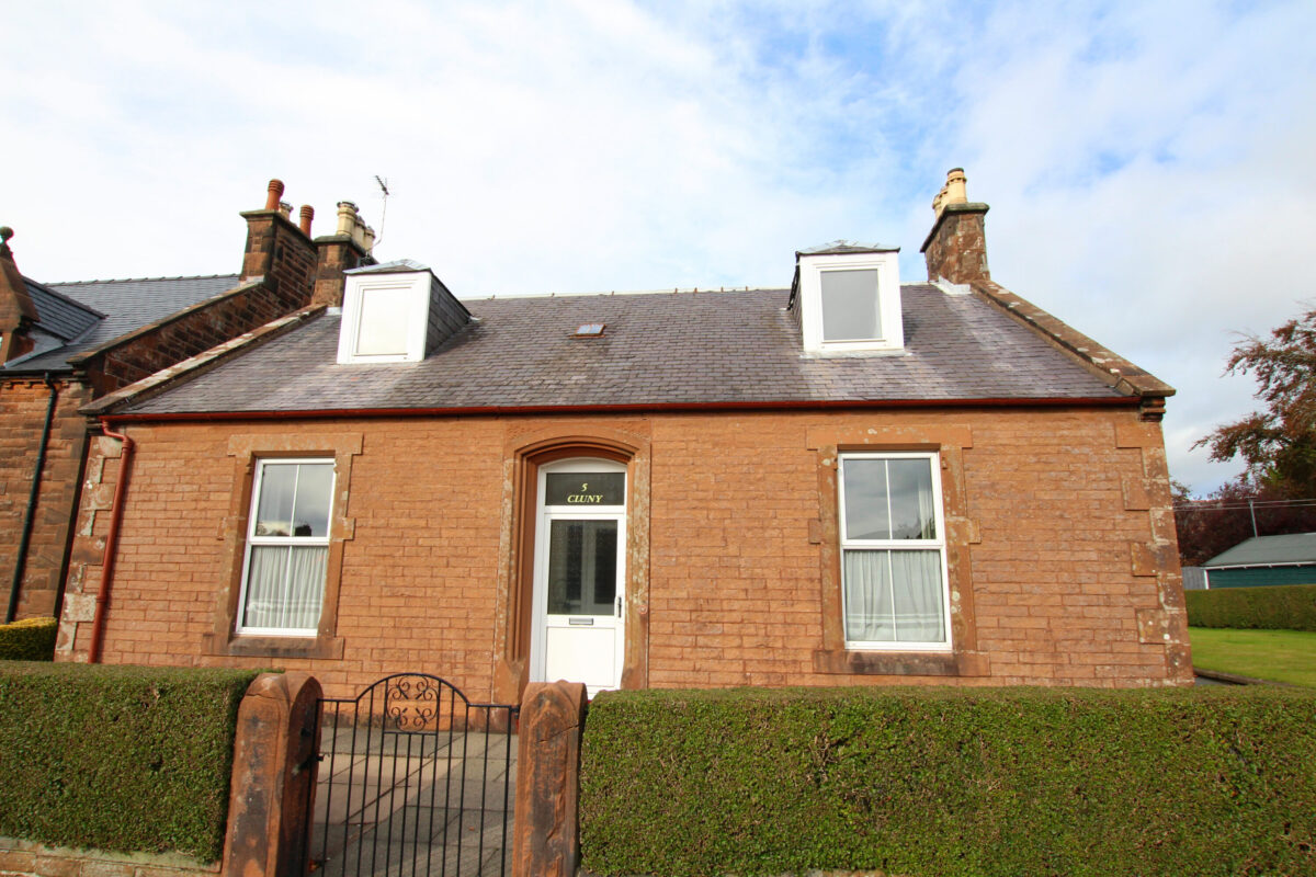 Cluny, 5 Livingstone Place, Lockerbie - Williamson and Henry